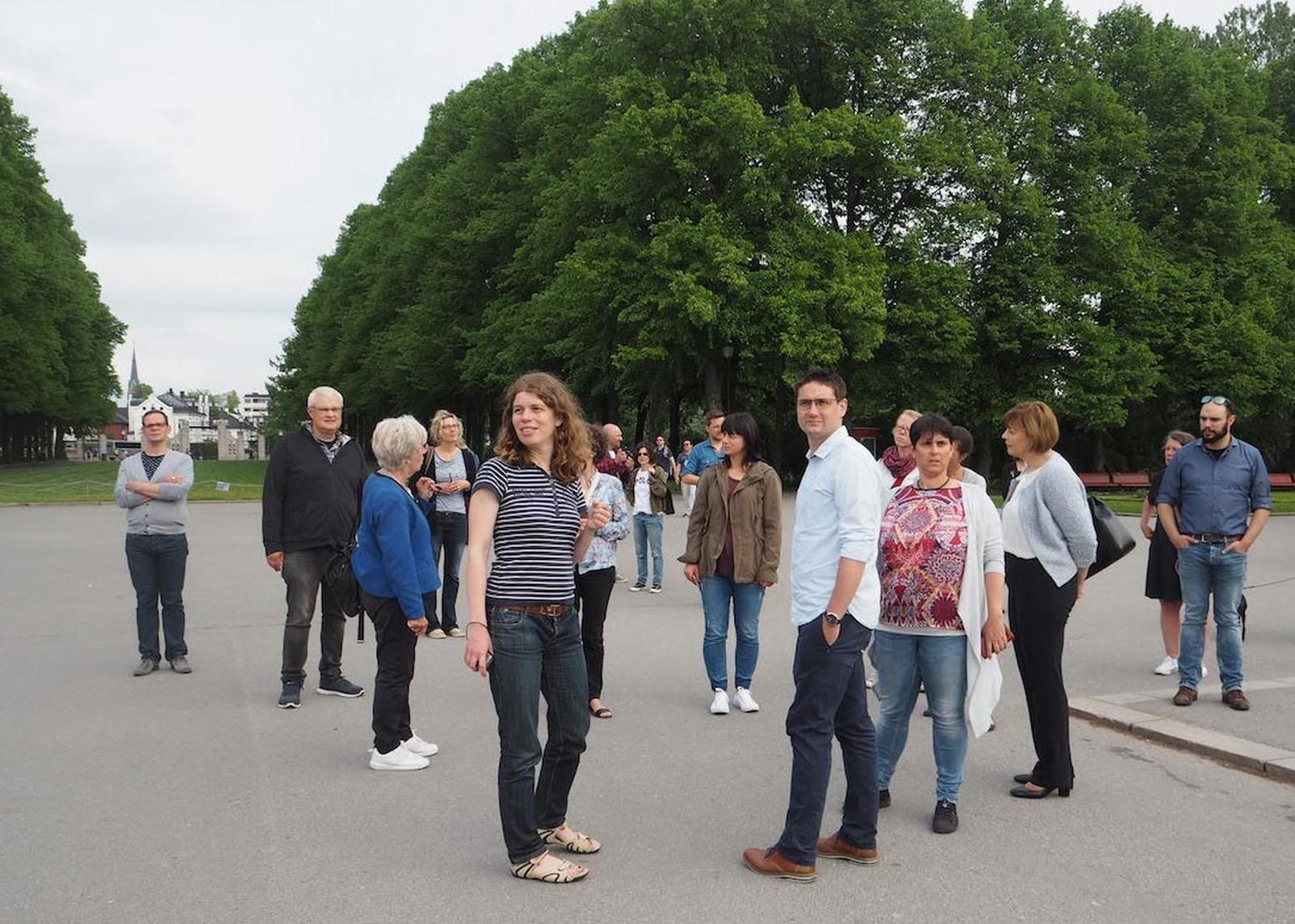 Ein Rundgang durch Oslo